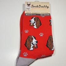 Basset Hound Dog Socks Fun Novelty Dress Casual Unisex SOX Sock Daddy Pu... - $11.99