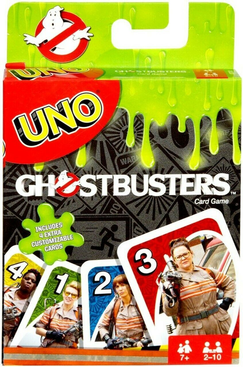 UNO Ghostbusters Edition