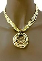 Hell Goldfarben Zierliche Freizeit Halskette Mit Oder Ohne Anhänger, Creolen - $16.45