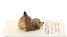 Hagen-Renaker Miniature Ceramic Dog Figurine Don Winton Cocker Pup Playing