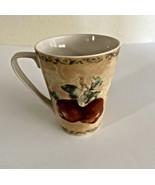 222 Fifth PTS International ~ Cortland Plum Coffee Mug ~. Cheri Blum  - $4.94