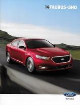 2014 Ford TAURUS sales brochure catalog US 14 SE SEL Limited SHO - $8.00