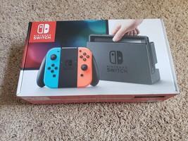 Nintendo Interrupteur - 32GB Gris Console (avec Néon Rouge/Bleu Néon Joy... - $279.73