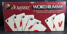 1987 SCRABBLE WORD RUMMY Game Vintage 87' NEW NIB Sealed Selchow & Righter - $35.00