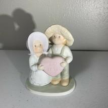 Homco Circle Of Friends Masterpiece Figurine Porcelain 1994 I Love Jesus... - $4.99
