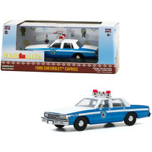 1986 Chevrolet Caprice Blue and White Police Car Home Alone (1990) Movie 1/43... - $35.23