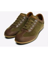 Panama Jack Trainers Norwell Moss Brown Sneakers Size 10 - $116.99