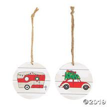 Vintage Car & Camper Ornaments - $25.00