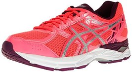 ASICS Women's Gel-Exalt 3 Running Shoe, Diva Pink/Silver/Dark Purple, 12... - $79.95