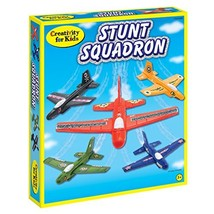 Creativity for Kids Stunt Squadron Craft Kit - Create 5 Foam Planes - $24.19