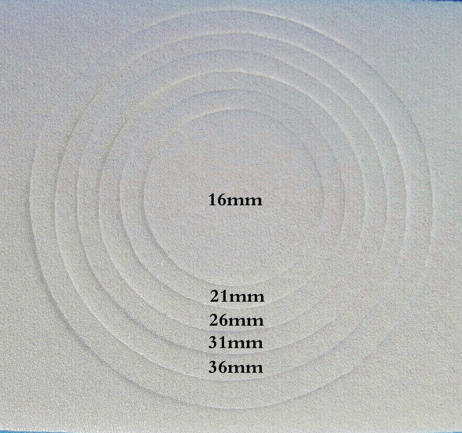 30 Pcs Box Round Shape Air Tite Coin holder 16 21 26 31 36mm High Quality White image 3