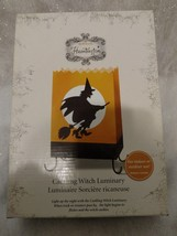 Halloween Cackling Witch Luminary Hallmark/Hauntington ~ Indoor/Outdoor ... - $16.89
