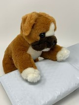 "Melissa & Doug Plush Lifelike and Lovable 9"" Puppy Dog Boxer Bulldog Stu... - $7.92"