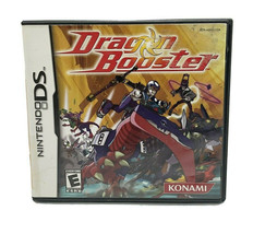 Dragon Booster (Nintendo DS, 2005) Konami Video Game Complete in Case - $29.99