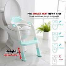 711TEK Potty Training Seat Toddler Toilet Seat with Anti-Slip Pads (Blue) image 4