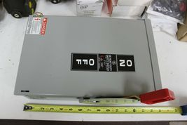 General Electric THN2261RDC Spec-Setter Safety Switch Heavy Duty New image 4