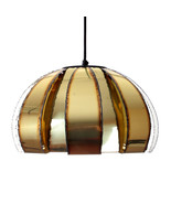 BRASS pendant by Coronell in the 1970s. Charming Danish mid-century Mode... - $238.00