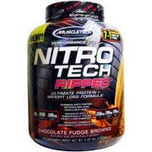 2 x  MuscleTech Performance Series Nitrotech Ripped Chocolate Fudge Brow... - $797.89