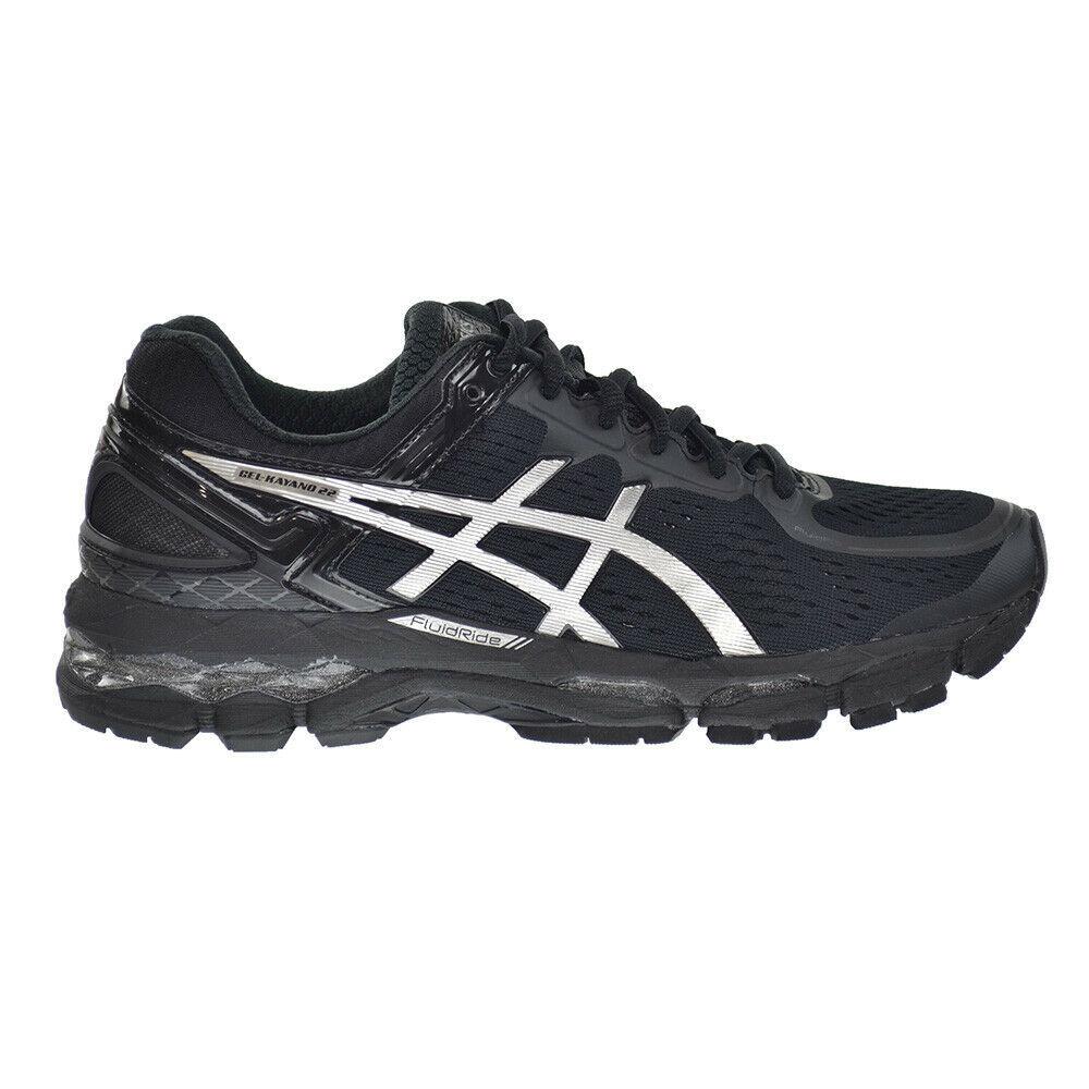 Asics Gel-Kayano 22 Women's Shoes Onyx-Silver-Charcoal t597n-9993 - $159.95