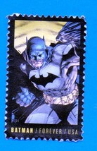 Scott #4932 Used US Postage Forever Stamp - 2014 Batman - $1.99