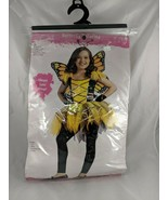 Butterfly Ballerina Halloween Costume Size Small 4-6 Childs - $13.60