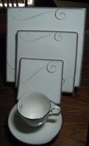 Noritake Platinum Wave  5 Piece Place Setting  ... - $109.95