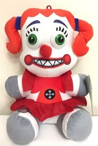 "LARGE 12"" FNAF CIRCUS BABY ORANGE GIRL PLUSH.NEW LICENSED 2018.SISTER LO... - $19.34"