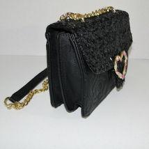 Betsey Johnson Sequin Jeweled Heart Flap Shoulder Bag image 2