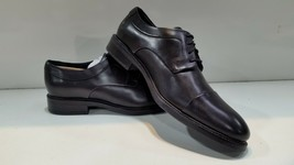 Cole Haan Hartsfield Black Cap Toe Leather Oxford Mens Shoes Size 10.5 - $109.24
