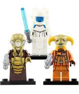3Pcs/set Zuckuss Aayla Secura Boolio - Star Wars Minifigures Building Toys Gift - $11.99