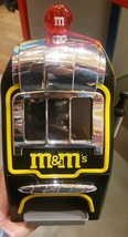 M&M's World Slot Machine Chocolate Candy Candies Dispenser New w Tag & F... - $123.75