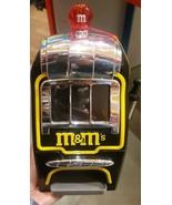 M&M's World Slot Machine Chocolate Candy Candies Dispenser New w Tag & FREE SHIP - $123.75