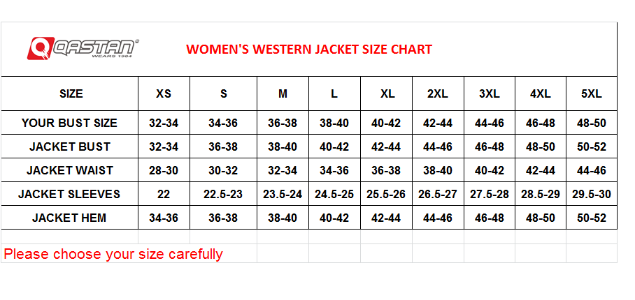 QASTAN Women's New Red Fringes / Concho Suede Cow Leather Jacket WWJ14E image 3