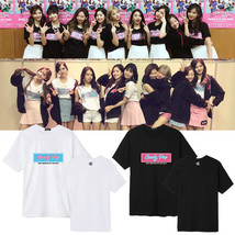 KPOP TWICE Tshirt Candy Pop T-Shirt MINA Tzyu Letter Tee Casual Unisex C... - $12.98