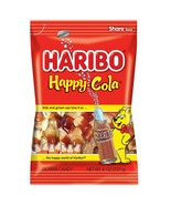 HARIBO HAPPY COLA GUMMI CANDIES SHAPE SIZ - 8oz. - PACK OF 5 - $23.61