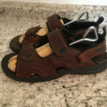 EARTH SPIRIT sun II MENS BROWN FISHERMEN SPORTS Leather Sandals 11 image 1