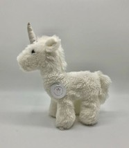 "Voyagers Sparkle Unicorn Plush White Glittery Horn 10"" NWT Manhattan Toy... - $19.79"