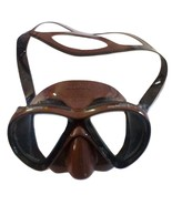 Mares X-VU Liquidskin SF Diving Mask - Brown -  - $90.00