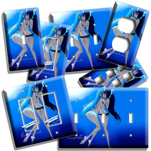 SEXY ANIME FANTASY GIRLS KISSING UNDERWATER LIGHT SWITCH OUTLET WALL PLA... - $10.99+