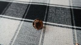 Vintage Gold Tone SHIELD Lapel Pin Tie Tack 1cm - £5.95 GBP