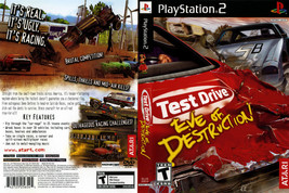 Test Drive: Eve Of Destruction CUSTOM PS2 CASE (NO GAME!!!!!!!!) - $5.64