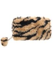 Fuzzy Tiger Print Wallet - $20.00