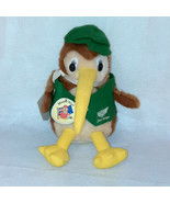"Rare Parrs Products New Zealand Souvenirs Master Kiwi Bird Plush Toy 10"" - $39.60"