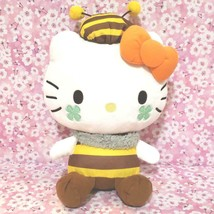 Hello Kitty Honey Bee Style Plush Doll 32cm Sanrio Large Not For Sale - $39.83