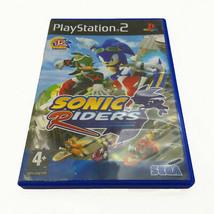 Sonic Riders | PAL Playstation 2 PS2 Spiel | Kein Handbuch | Akzeptabler Zustand - $6.70