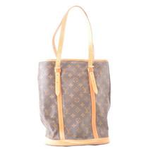 LOUIS VUITTON Monogram Bucket GM Shoulder Bag M42236 LV Auth ar2041 **St... - $350.00
