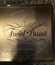 Trivial Pursuit Genus Iii 1994. At Home Fun Vintage Complete Parker Brothers Euc - $14.84