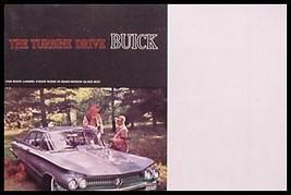 1960 Buick Turbine Brochure, LeSabre Invicta Electra - $14.24