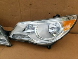 09-12 Volkswagen VW Routan Halogen Headlight Head Light Lamp Set LH & RH image 2