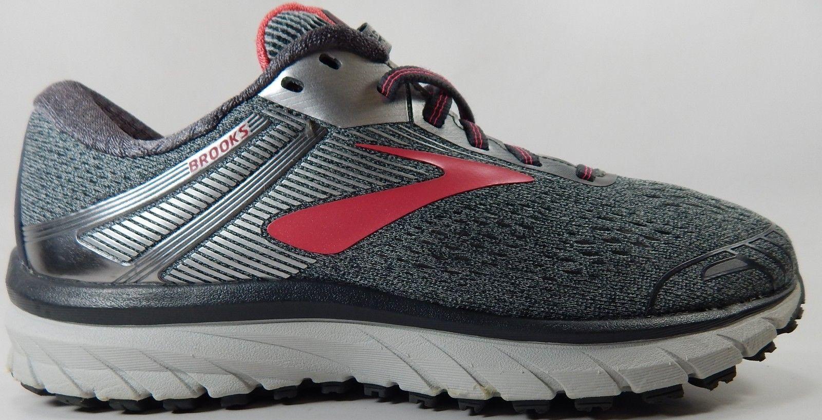 Brooks GTS 18 Size US 8.5 M (B) EU 40 Women's Running Shoes Gray 1202681B079